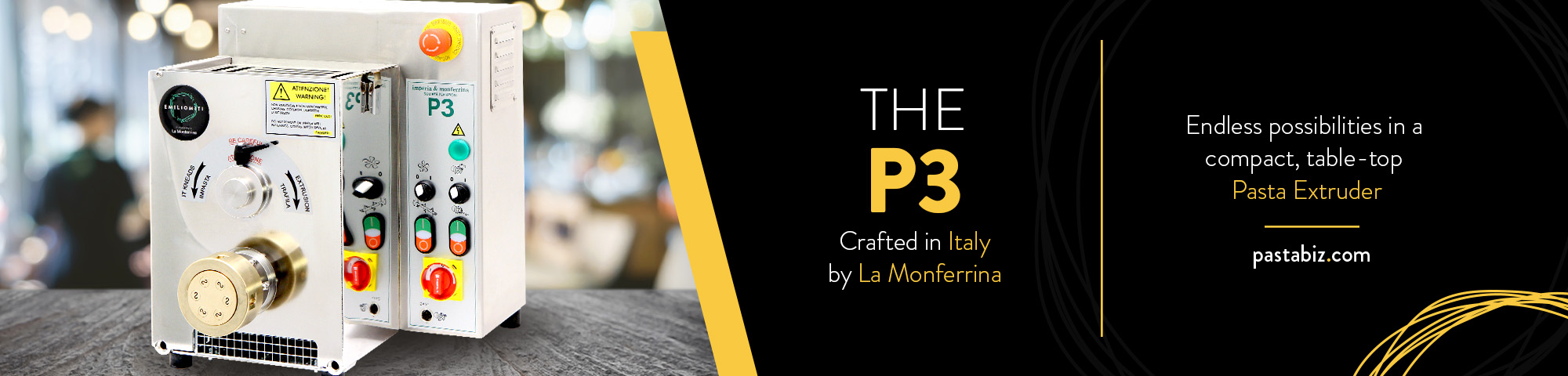 P3 Pasta Mixer Extruder