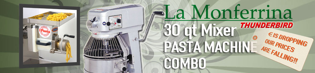 Thunderbird Mixer Pasta Machine Promo